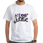 Stamp Junkie White T-Shirt