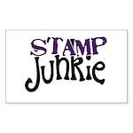Stamp Junkie Rectangle Sticker 50 pk)