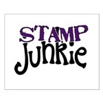 Stamp Junkie Small Poster