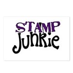 Stamp Junkie Postcards (Package of 8)