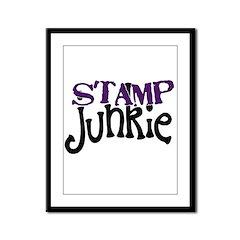 Stamp Junkie Framed Panel Print