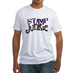Stamp Junkie Fitted T-Shirt