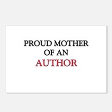 Proud Mother Of An AUTHOR Postcards (Package of 8)