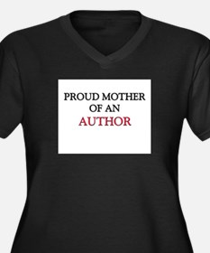 Proud Mother Of An AUTHOR Women's Plus Size V-Neck