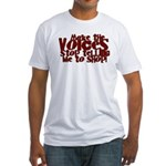 Make the Voices Fitted T-Shirt