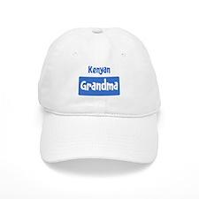 Kenyan grandma Baseball Cap