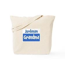 Jordanian grandma Tote Bag