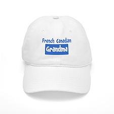 French Canadian grandma Baseball Baseball Cap