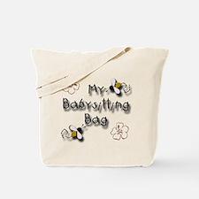 My Babysitting Tote Bag