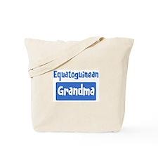 Equatoguinean grandma Tote Bag