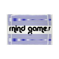 MIND GAMES Rectangle Magnet