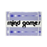 MIND GAMES Rectangle Magnet (100 pack)