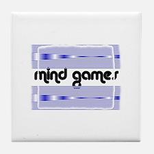 MIND GAMES Tile Coaster