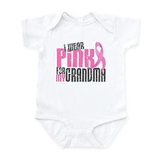 I Wear Pink For My Grandma 6.2 Infant Bodysuit
