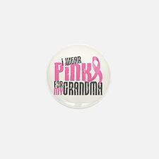 I Wear Pink For My Grandma 6.2 Mini Button (10 pac