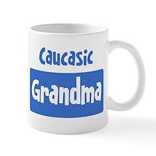 Caucasic grandma Mug