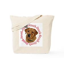 Fox Red Labrador Christmas Tote Bag