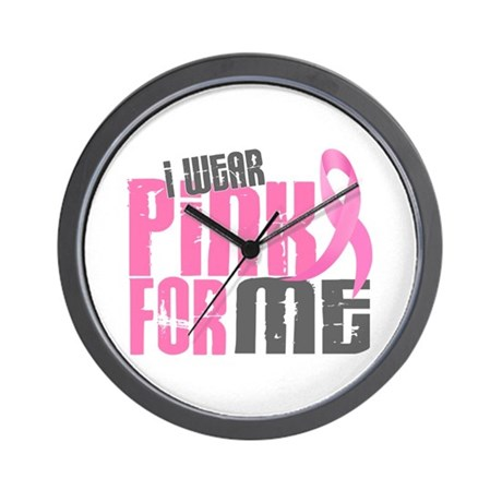I Wear Pink For ME 6.2 Wall Clock