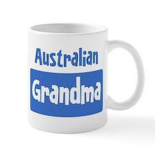 Australian grandma Mug