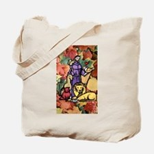 Saint Francis Leaves Tote Bag
