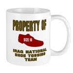 Iraqi Shoe Tossing Mug