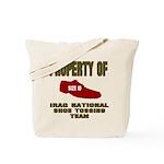 Iraqi Shoe Tossing Tote Bag