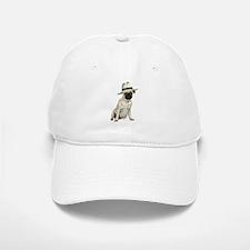 Poker Pug Baseball Baseball Cap