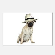 Poker Pug Postcards (Package of 8)
