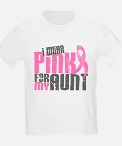 I Wear Pink For My Aunt 6.2 T-Shirt