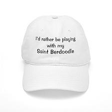 Be with my Saint Berdoodle Baseball Cap