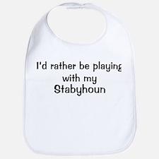Be with my Stabyhoun Bib