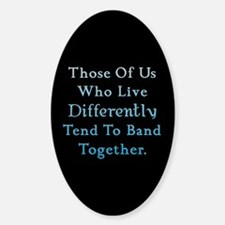 Those Of Us Twilight Oval Decal