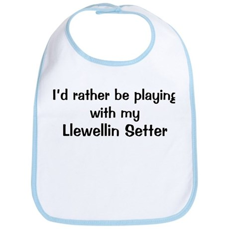 Be with my Llewellin Setter Bib