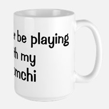 Be with my Pomchi Mug