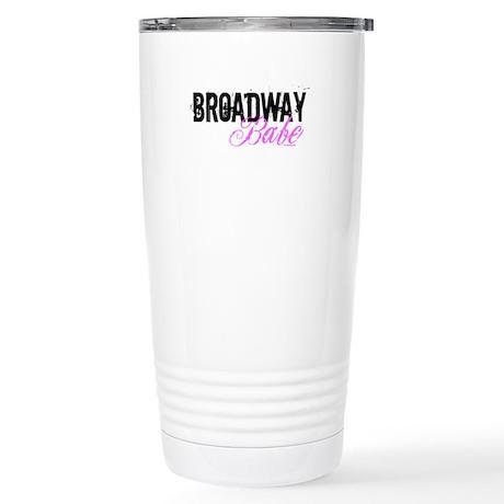 Broadway Babe Stainless Steel Travel Mug
