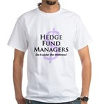 The Hedge Hog's White T-Shirt