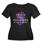 The Hedge Hog's Women's Plus Size Scoop Neck Dark