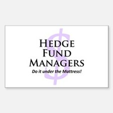 The Hedge Hog's Rectangle Decal