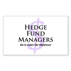The Hedge Hog's Rectangle Sticker 10 pk)