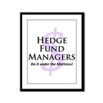 The Hedge Hog's Framed Panel Print