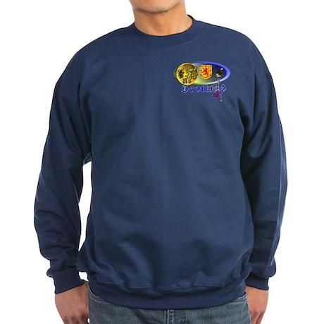 Dynamic Scotland. 1 Sweatshirt (dark)