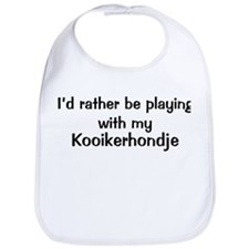 Be with my Kooikerhondje Bib