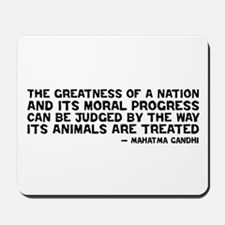 Gandhi - Greatness of a Nation Mousepad