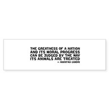 Gandhi - Greatness of a Nation Bumper Stickers