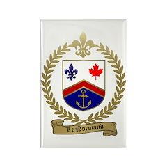LENORMAND Family Crest Rectangle Magnet