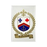 LENORMAND Family Crest Rectangle Magnet (10 pack)
