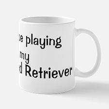 Be with my Curly-Coated Retri Mug