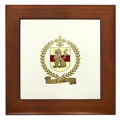 LEONARD Family Crest Framed Tile