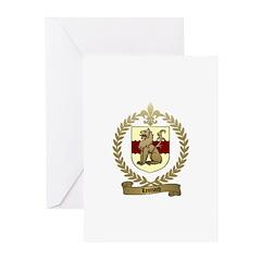 LEONARD Family Crest Greeting Cards (Pk of 10)