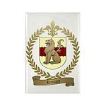 LEONARD Family Crest Rectangle Magnet (100 pack)